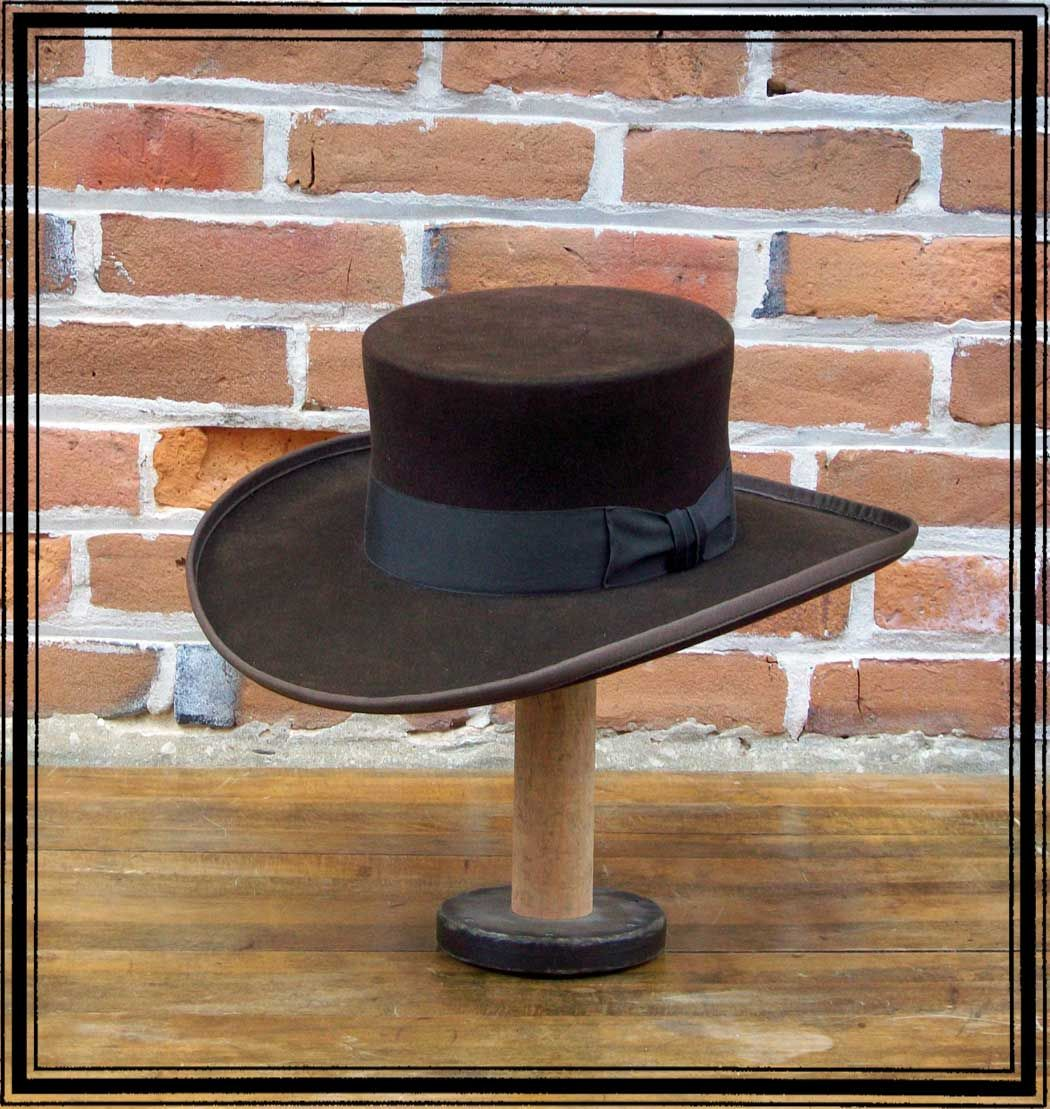 Men's Hat - Abolitionist Old West Hat - 10X Felt | Things I