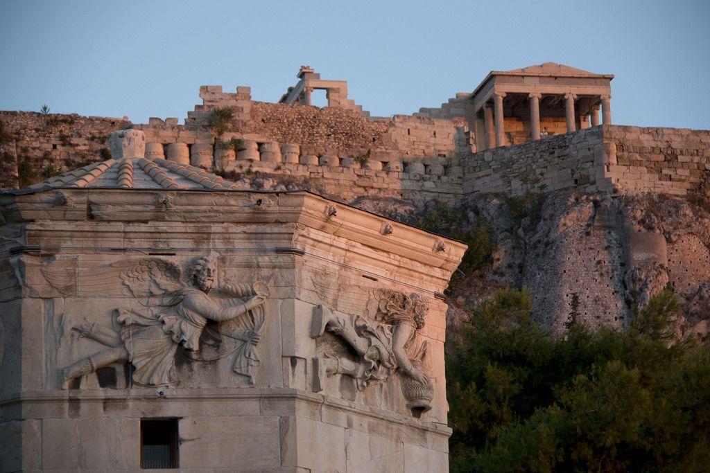 Roman Agora Athina Tripomizer Trip Planner Greece Travel