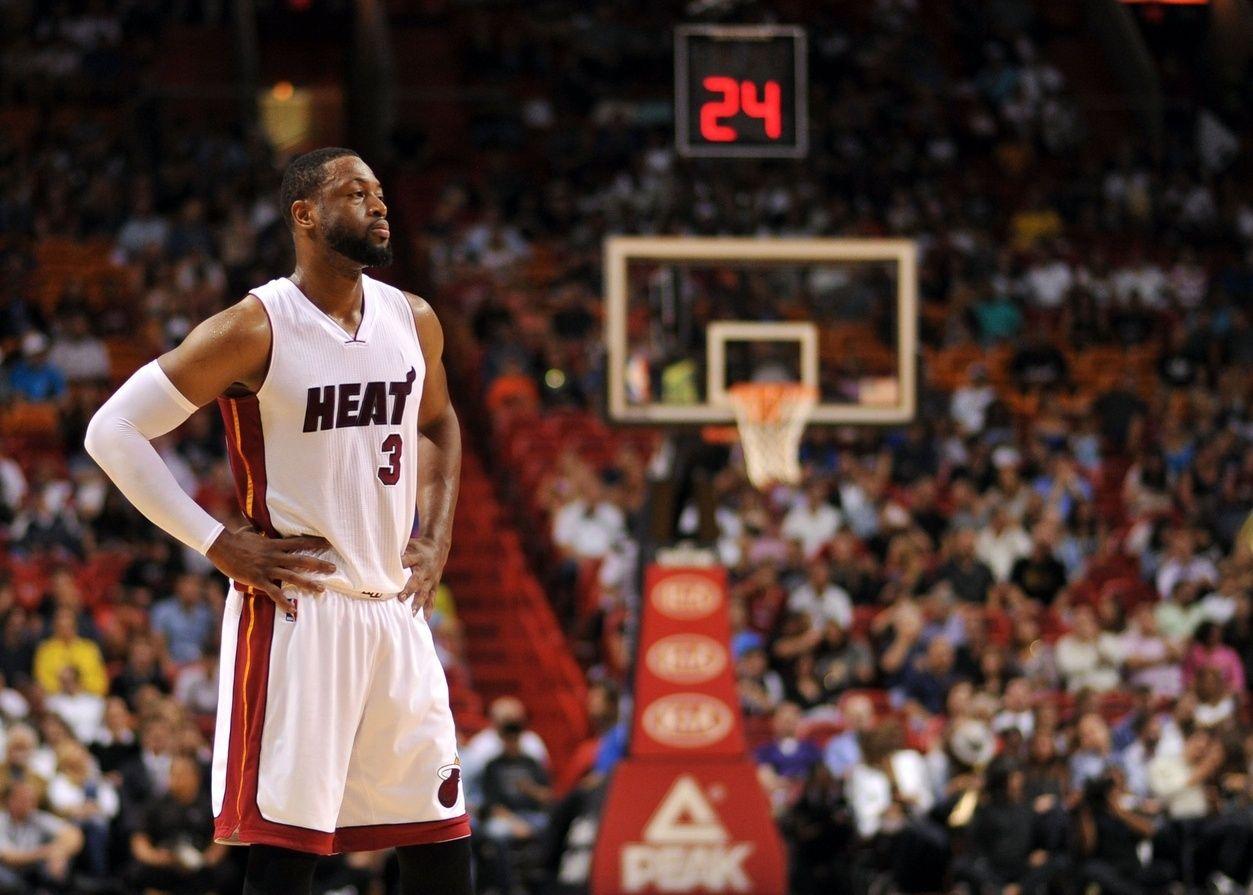 Dwyane Wade's Calculated Career Dwyane wade, Heat fan