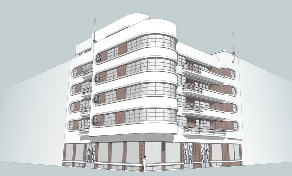 Building 004 by lumilanous.deviantart.com on @DeviantArt