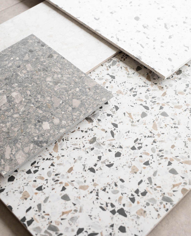 Real Terrazzo Vs Terrazzo Look Tiles What You Need To Know Terrazzo Terrazzo Tile Terrazzo Flooring