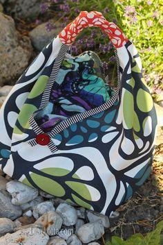 Lila-lotta BLOG / schnelle Tasche auch für Anfänger