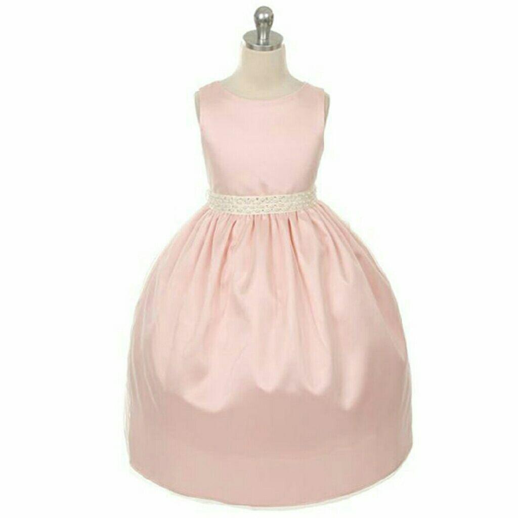 Pink Girl Dress Birthday Party Wedding Prom