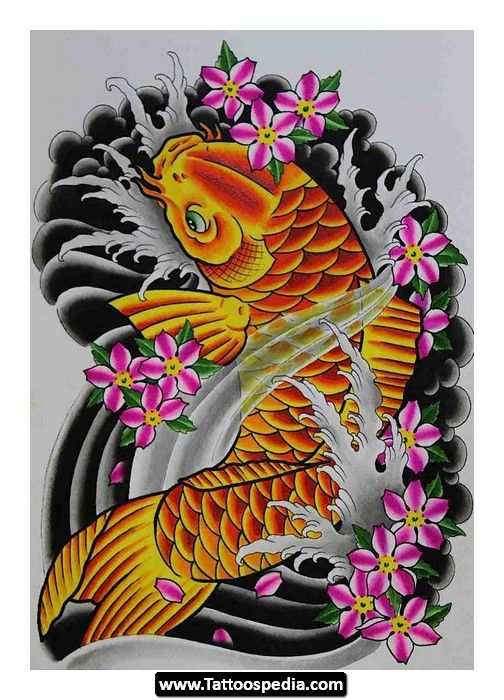 Koi fish tattoo sleeve designs http for Koi fish design