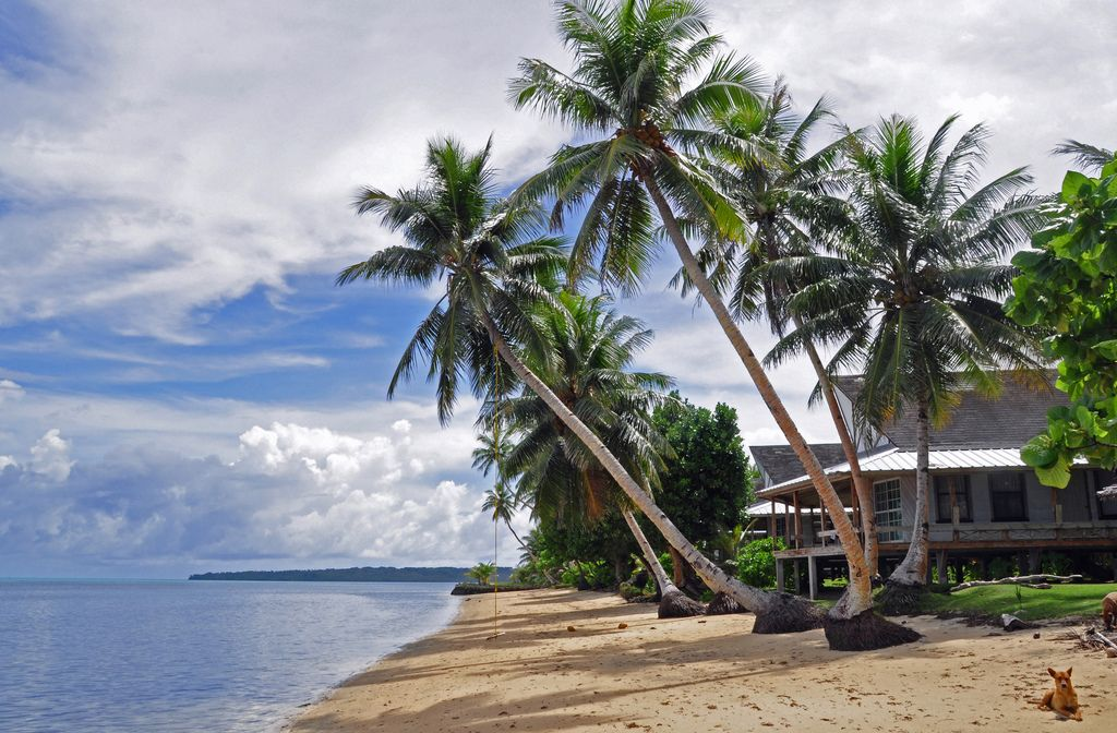 Village View Hotel Wacholab Beach Yap Federated States Of Micronesia Is An