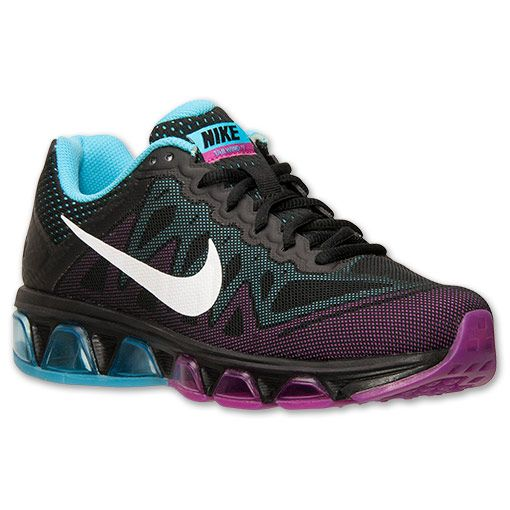 timeless design 3e272 82e6c Women s Nike Air Max Tailwind 7 Running Shoes - 683635 004   Finish Line    Black White Clearwater Fuchsia Flash