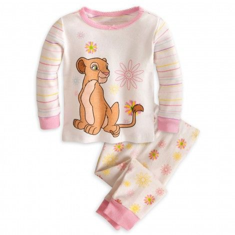 Disney/'s LION KING Girls Pyjamas// PJs In a Choice of 2 Styles 18 Months-5 Years