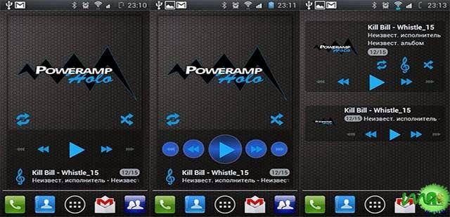 Poweramp Holo Widget APK: Download Poweramp Holo Widget for