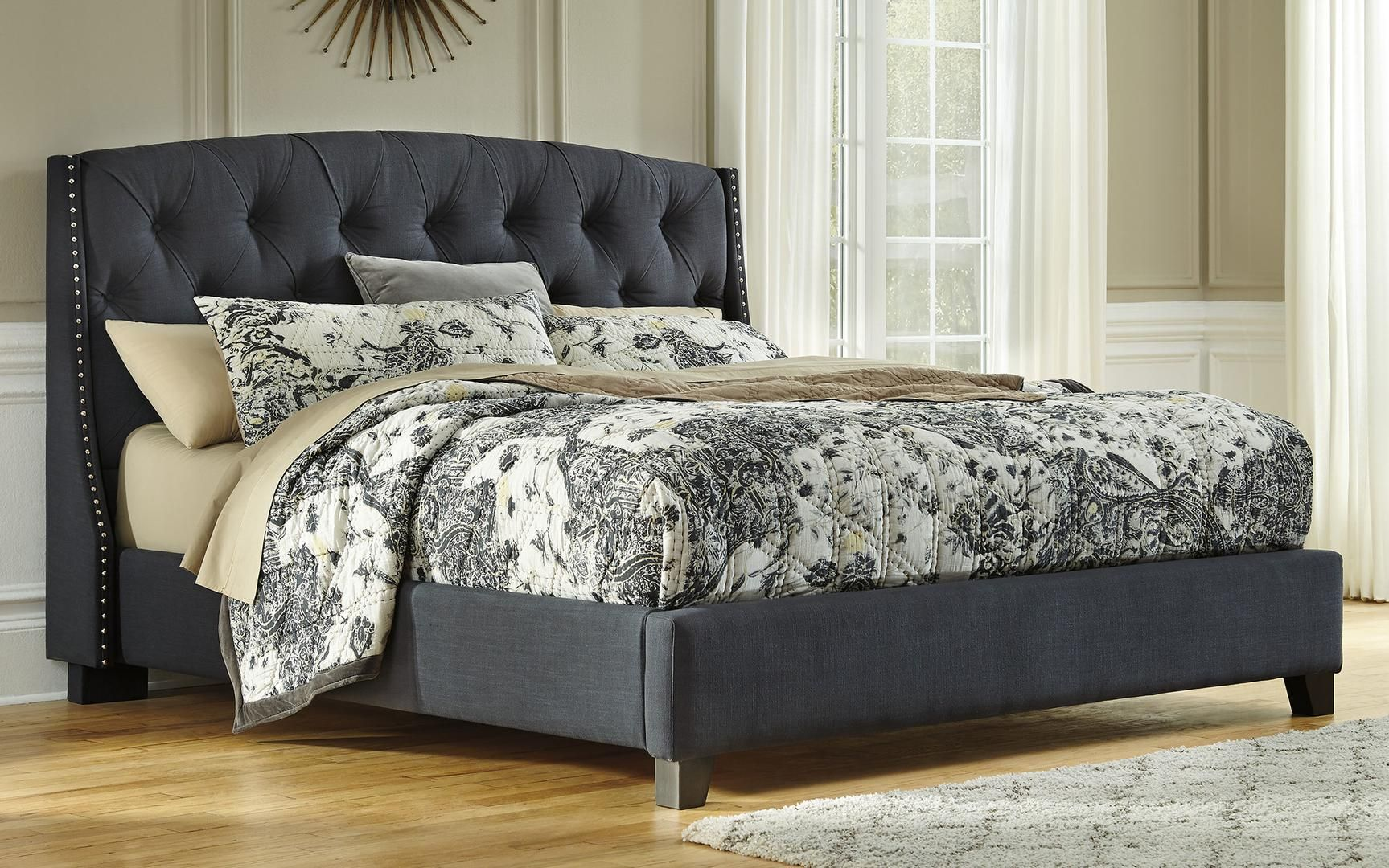 Best Signature Design By Ashley Kasidon Queen Size Bed 400 x 300