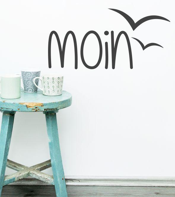Moin, Begrüßung, Flur, Eingang, Möwen, Vögel, Vogel