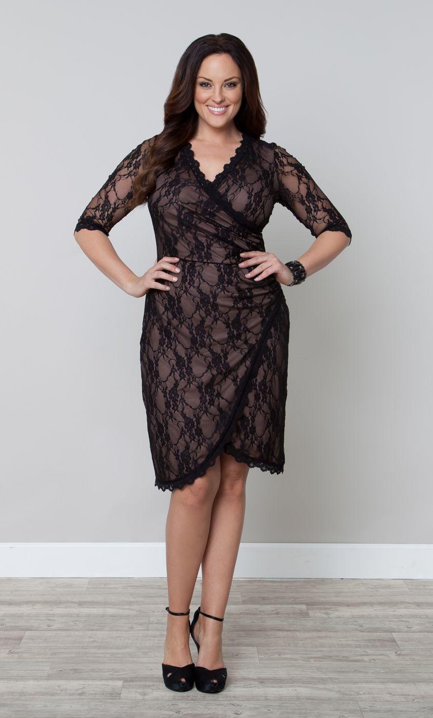 Gigi Lace Cinch Dress | fashion | Evening dresses plus size ...