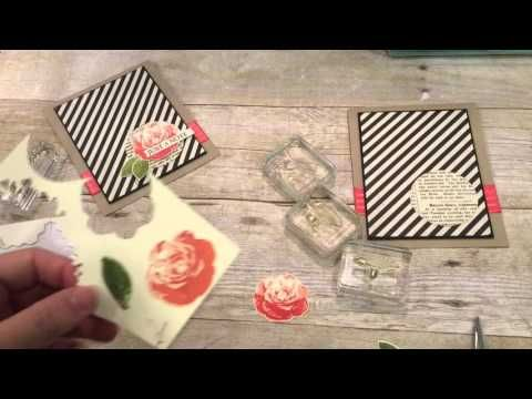 Stampin Up's Picture Perfect - YouTube