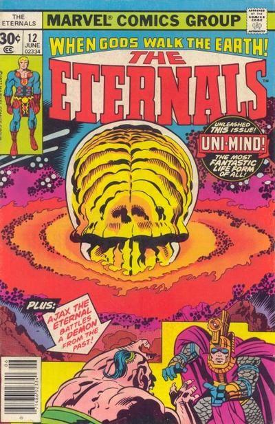 Eternals # 12 by Jack Kirby & John Verpoorten