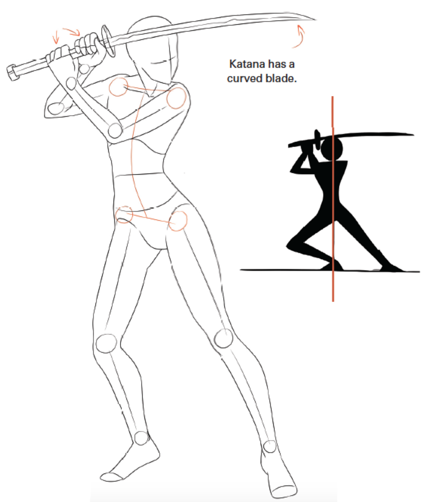 How To Draw Anime Fighting Pose For Girl With Clos Anime Fighting Pose In 2020 Fighting Poses Girl Poses Anime Poses