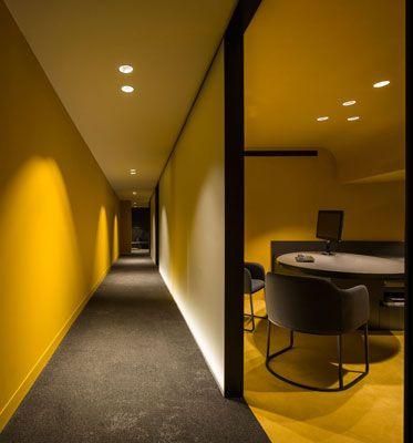 Francesc rif studio offices caixabank m laga - Diseno de interiores malaga ...