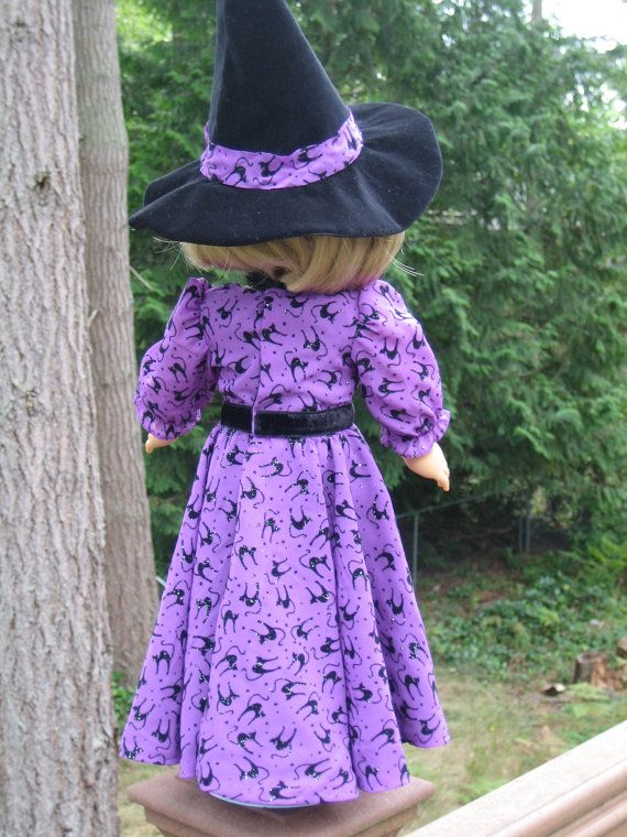 Halloween gown for your American Girl doll by CarmelinaCreations