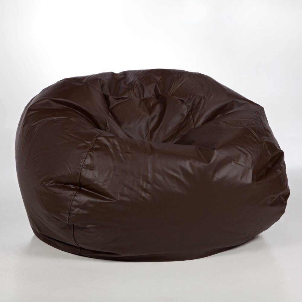 XL Vinyl Bean Bag Chair