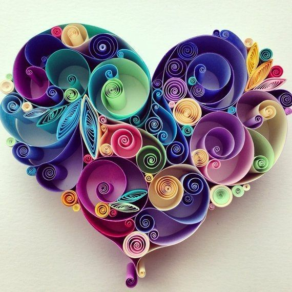 Shop For Cheap DIY Colorful Rolling Paper Heart Crafts