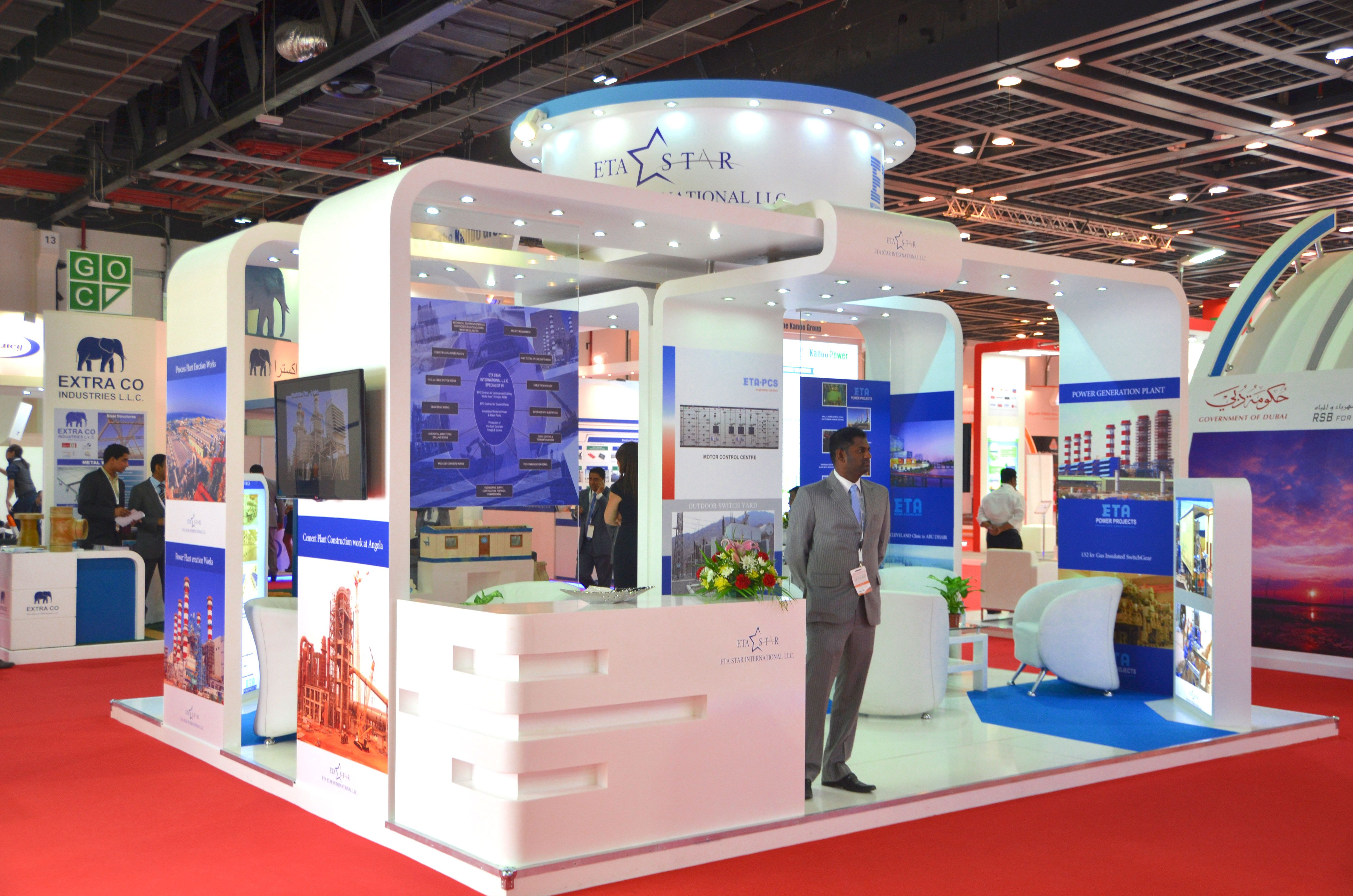Best Exhibition Stand Design : Witex exhibition stands uae stand design
