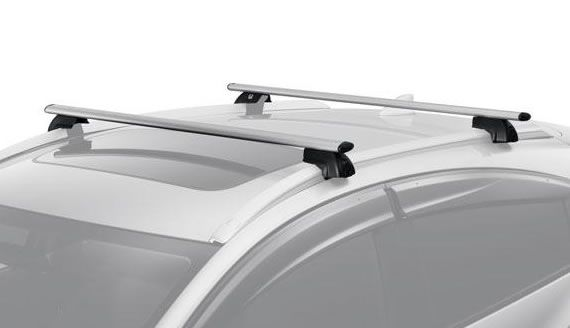 2016 Honda Hr V Cross Bars For Use With The Roof Rails To Install Optional Attachments Made Of Extruded And Die Cast Aluminum F Honda Roof Rails Jeep Compass