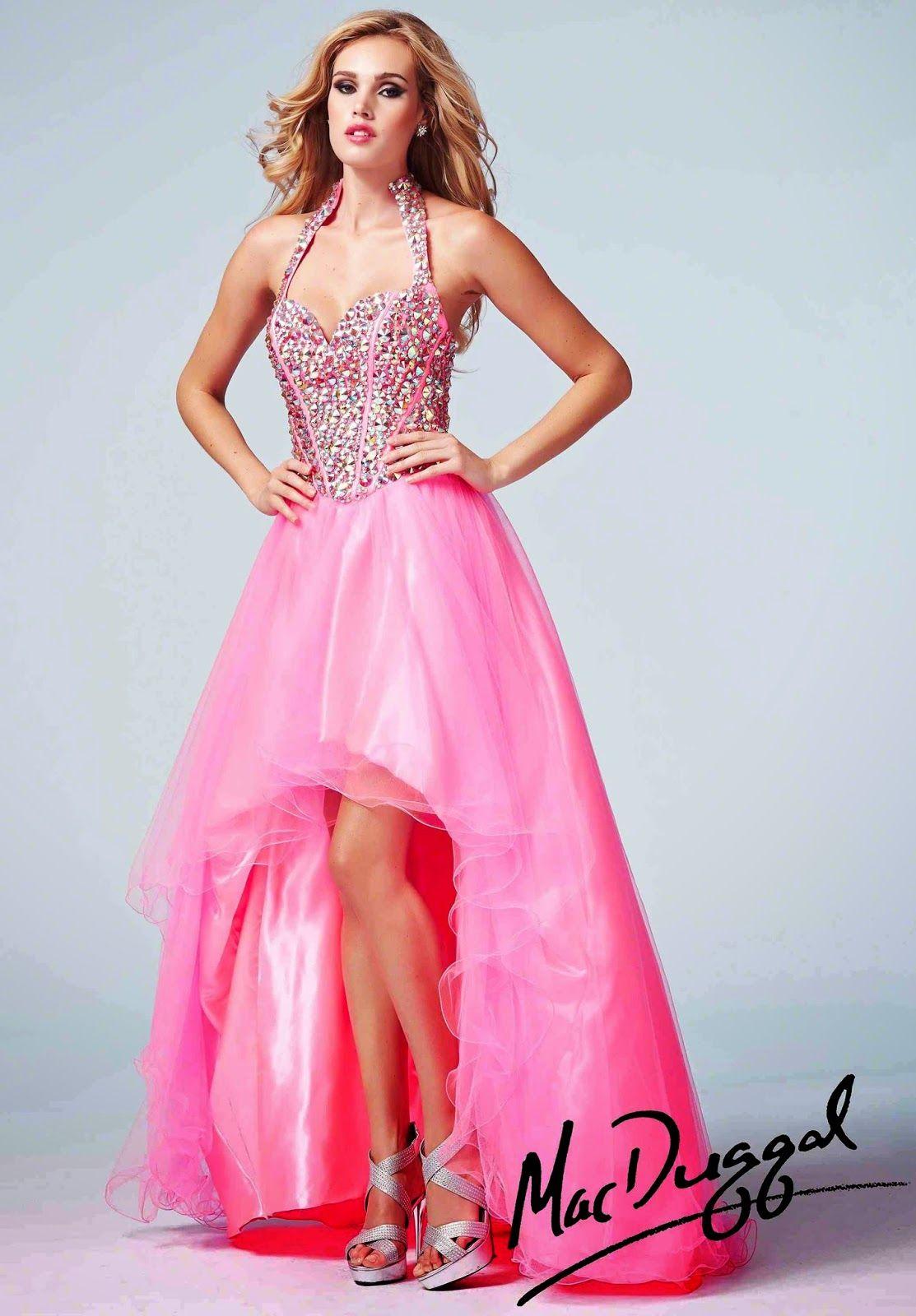 Espectaculares modelos de vestidos de fiesta largos | Vestidos ...