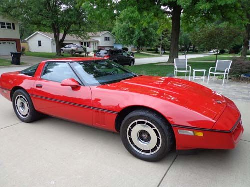 1984 Chevrolet Corvette TARGA TOP - Normal, IL #0884613267  Once Driven