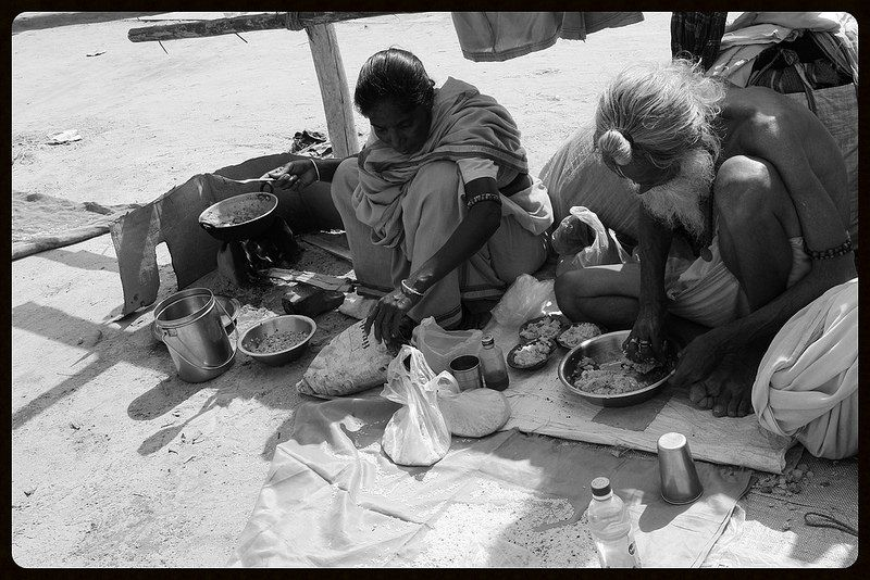 The Poor Mans Meal Maha Kumbh