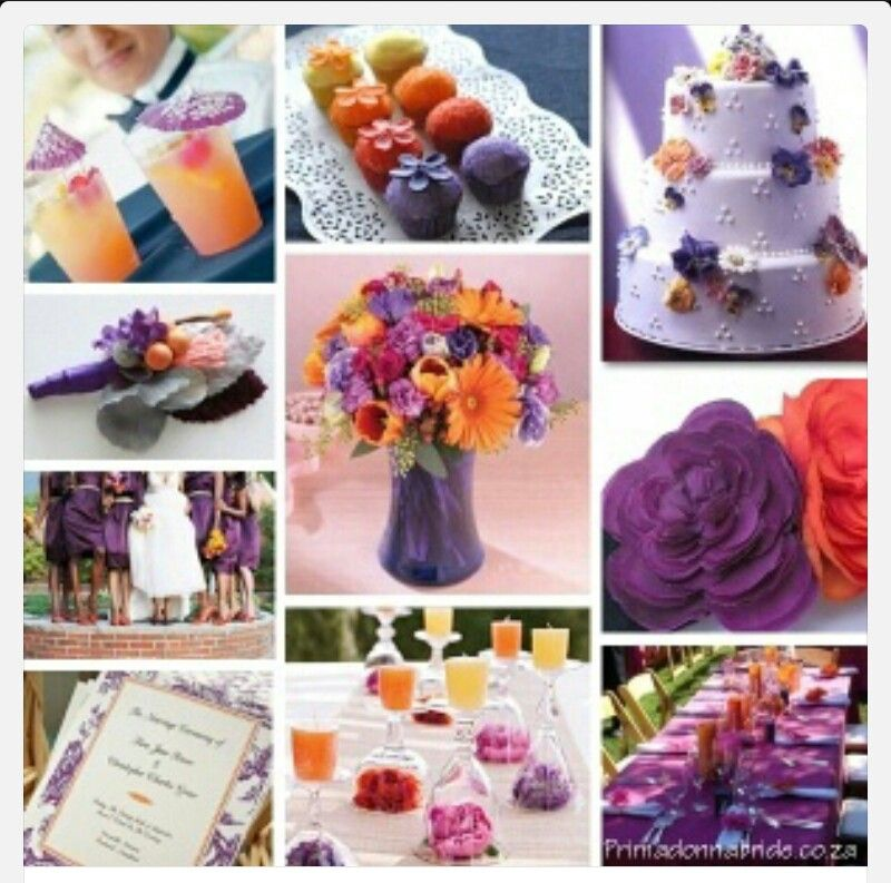 august wedding colors | Fall Wedding Color Schemes | weddings ...