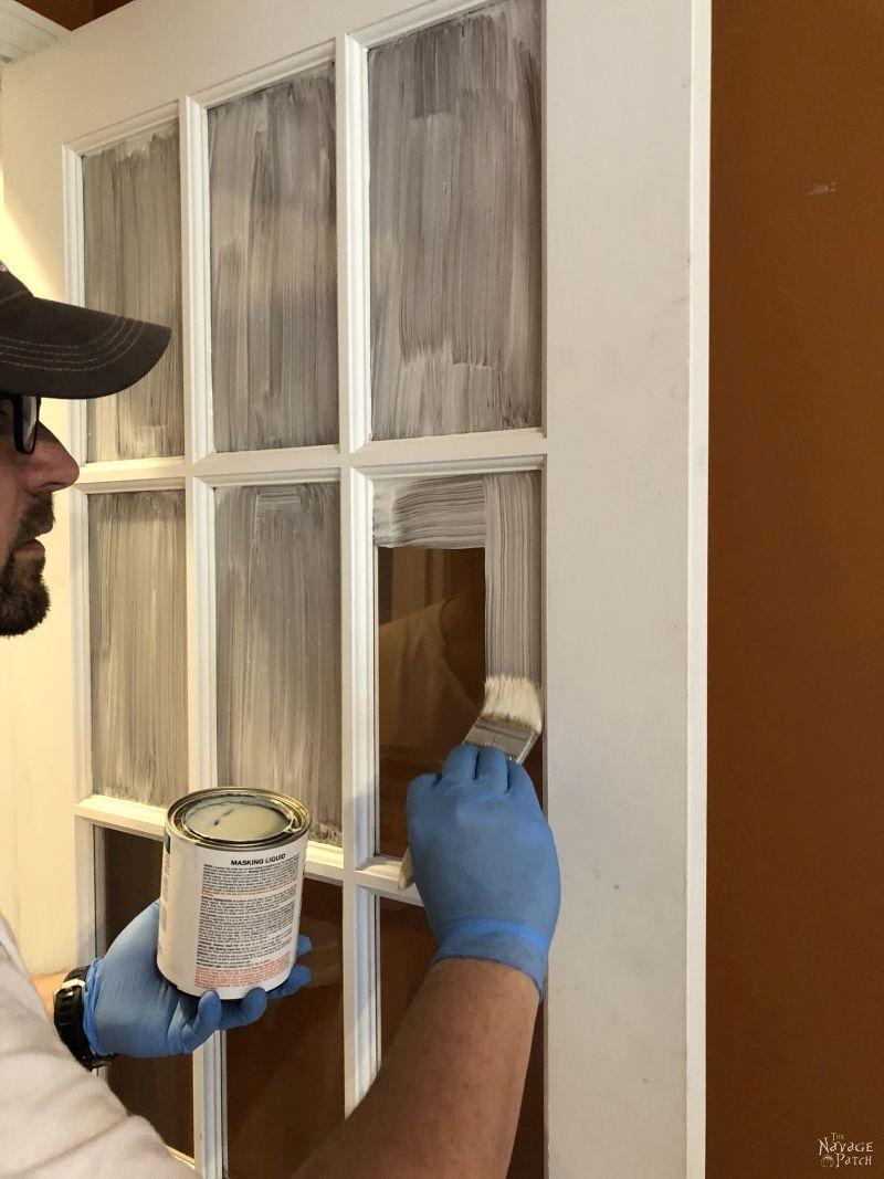 How To Paint French Doors The Easy Way French Doors Metal Window Frames Glass Panel Door