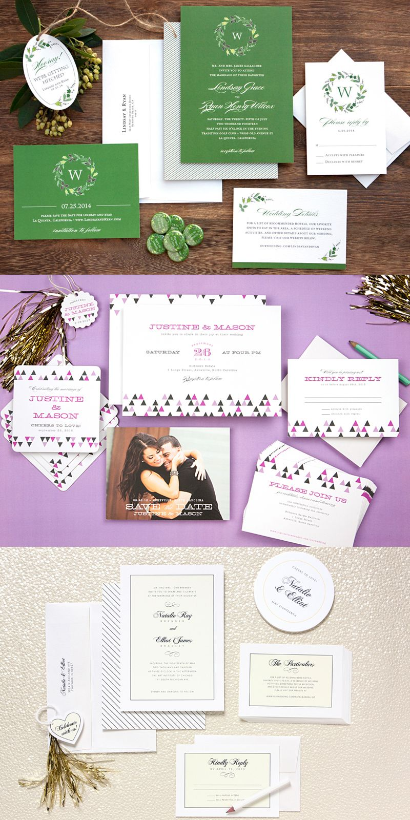 40+ Beautiful Wedding Invitation Wedding Invitation Cards & Kit Ideas