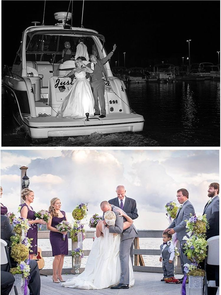MustSee Wedding Photos from Waterfront Wedding Venue (met