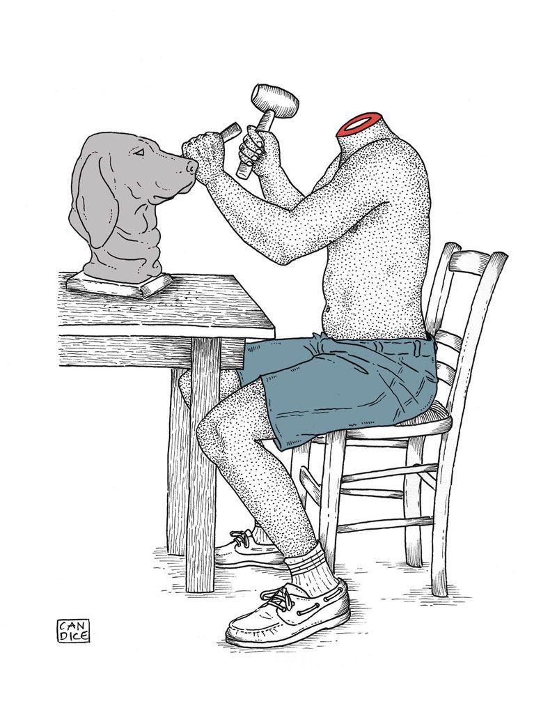 Candice Roger, ilustraciones para despertar I #Ilustracion © Candice Roger I Coctel Demente