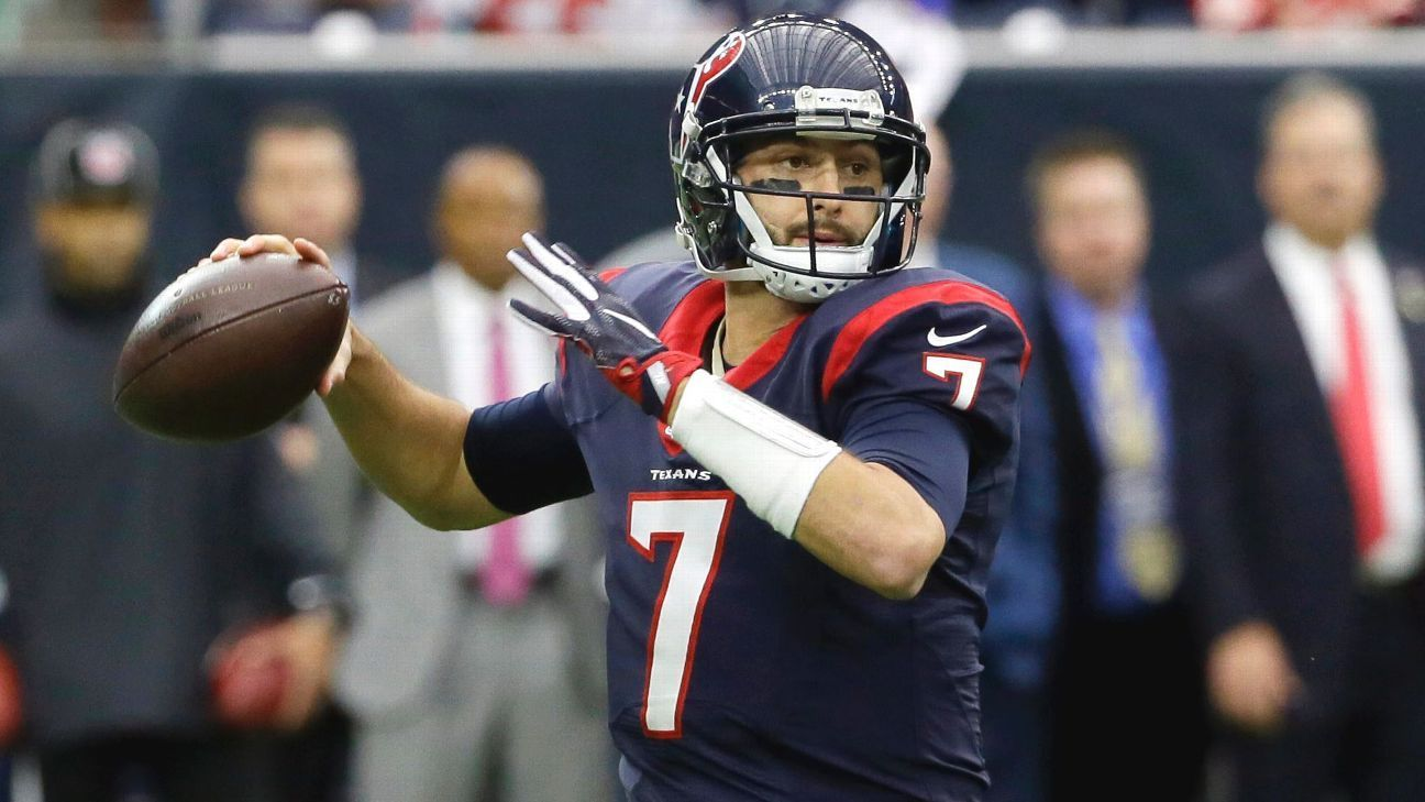 Source Former Texans Qb Brian Hoyer Will Make Visit To Jets Texans Brian Hoyer Houston Texans