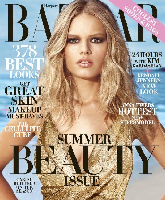 Anna Ewers – Harper's Bazaar USA May 2015