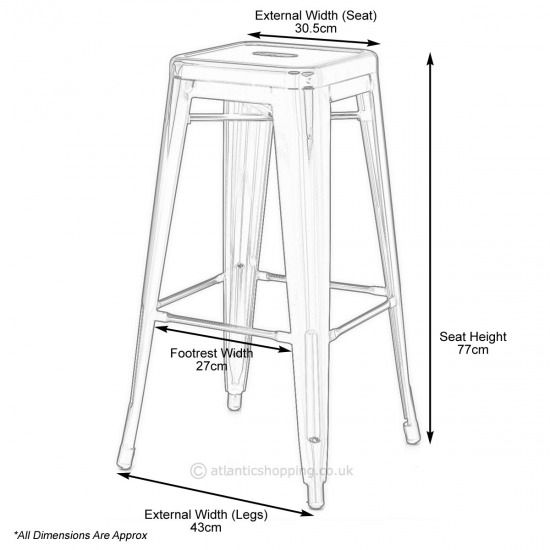 Kitchen Stool Measurements Ikea Chair Round Back