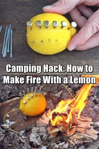 How to Make Fire With a Lemon – Fact or Fiction