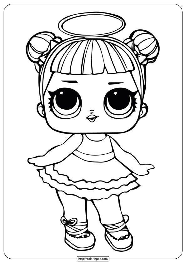 Lol Surprise Sugar Coloring Pages Super Coloring Pages Princess Coloring Pages Lol Dolls