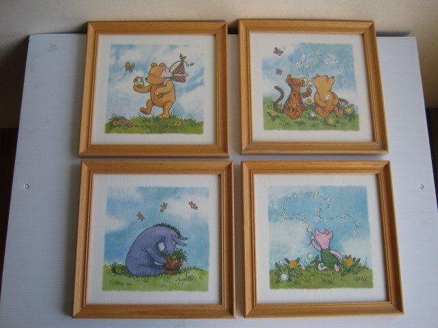 Pin By Valerie Scott Jaramillo On Baby Disney Home Decor Childrens Book Art Winnie The Pooh Vintage