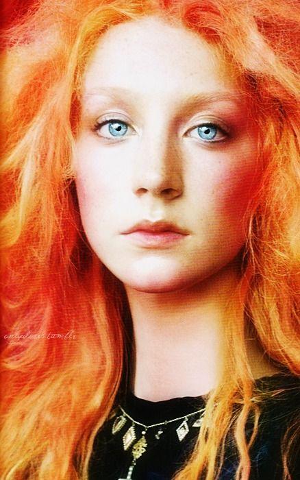 Redhead Saoirse Ronan By Steven Meisel Red Hair Looks Long Hair Women Long Red Hair