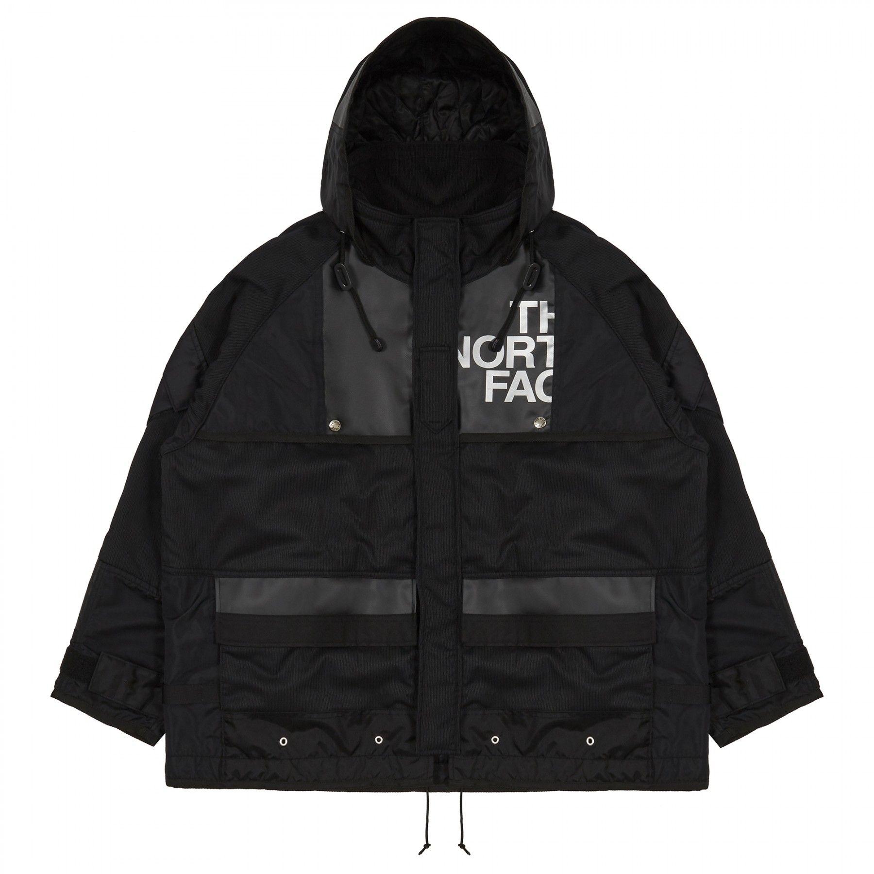 Junya Watanabe Man X The North Face Daffle Bag Remake Long Jacket Black Long North Face Jacket Jackets Stylish Outerwear [ 1800 x 1800 Pixel ]