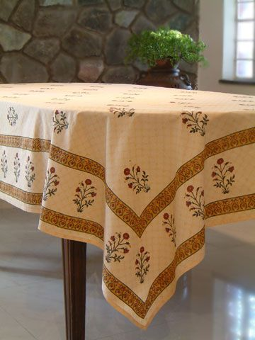 Banquet Tablecloth Floral Tablecloth Indian Tablecloth Elegant Tablecloth Cotton Tablecloth Elegant Tablecloth Floral Tablecloth Floral Curtains