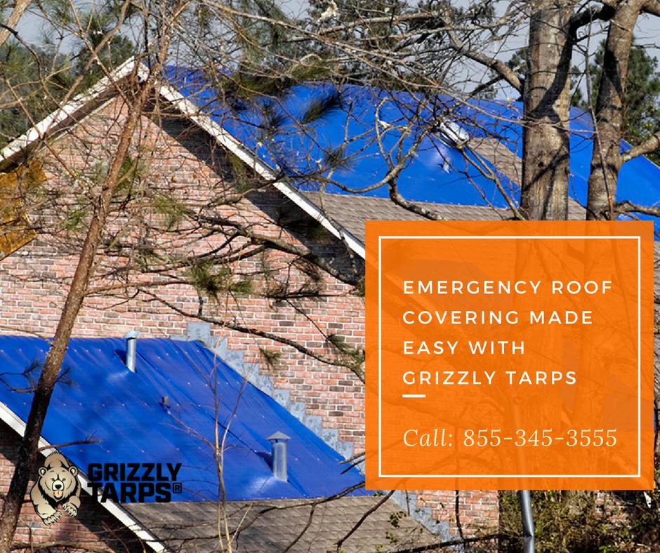 Roof Tarps Emergency Roof Repair Roof Repair Roof Covering