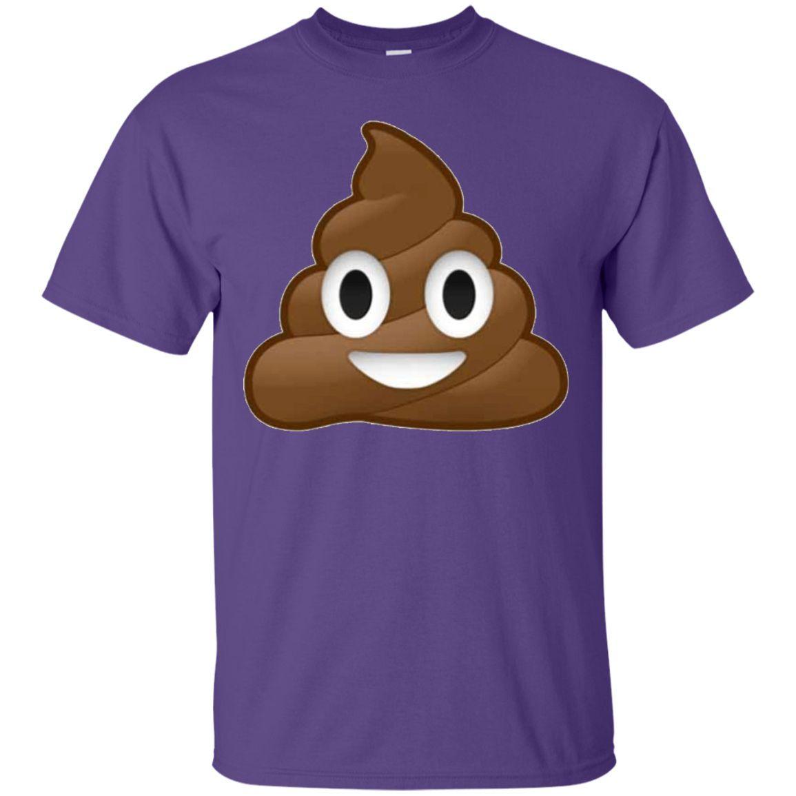 Emoji Poop ~ Novelty Funny or Men Women Kids T-Shirt