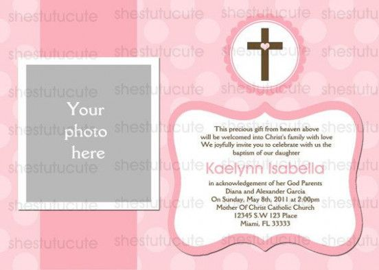 8 Easy Rules Of Blank Invitation Templates For Christening