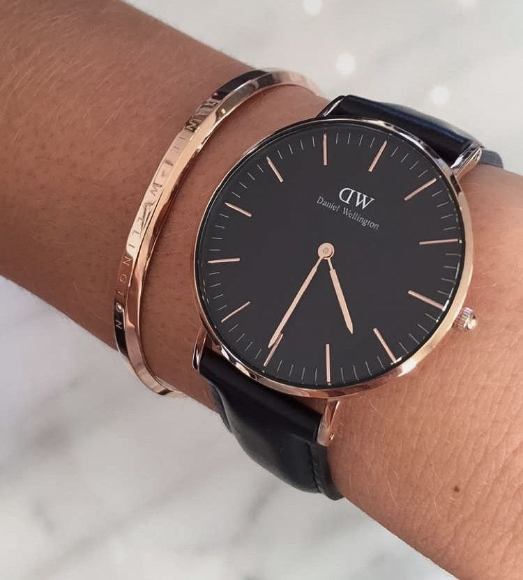 56a276df1567 Daniel wellington black collection dw watch jewelry. Use code unamia to  receive a 15% discount!