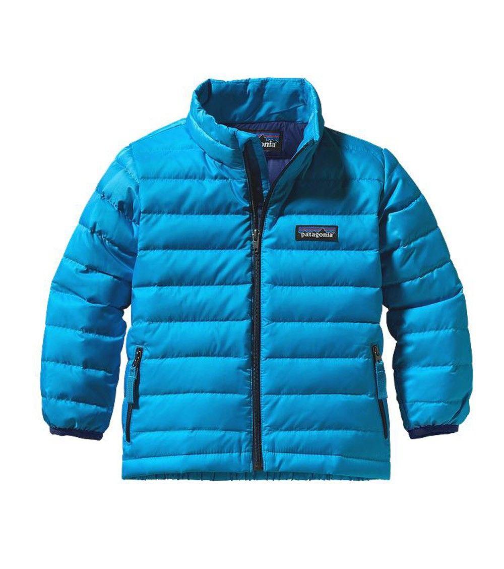 Patagonia Baby Down Sweater Jacket Electron Bluet