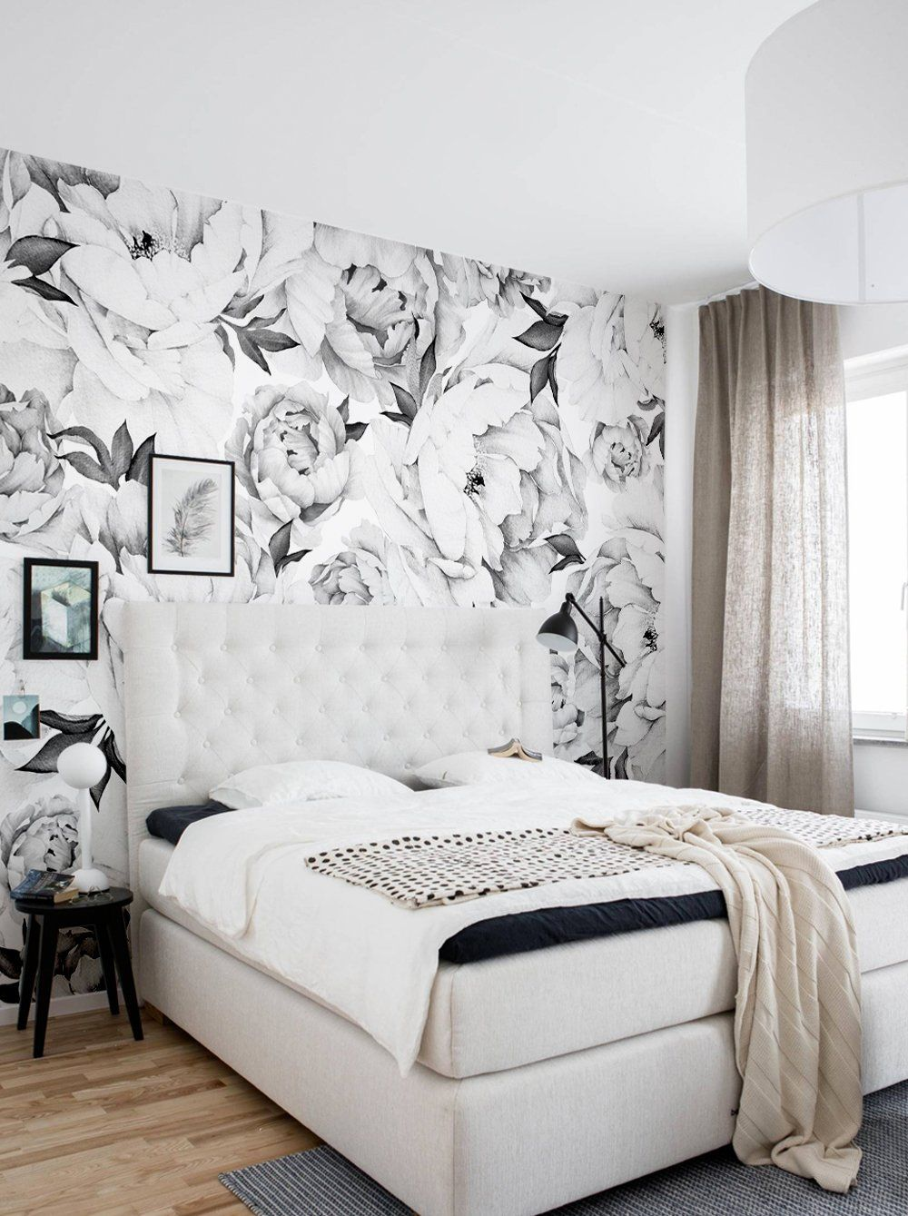 peony flower mural wall art wallpaper peel and stick floorspeony flower mural wall art wallpaper peel and stick