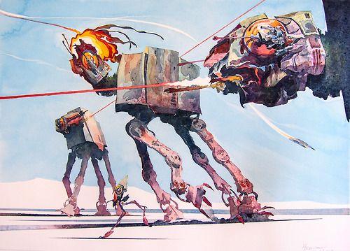 AT-AT Walkers by Hermann Mejía