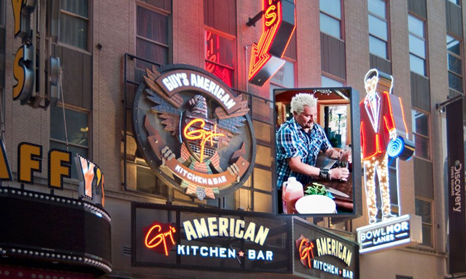 Guy S Times Square Guy S American Kitchen Bar Drive The