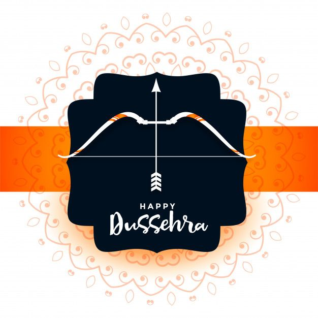 Download Hindu Festival Of Dussehra Greeting Card
